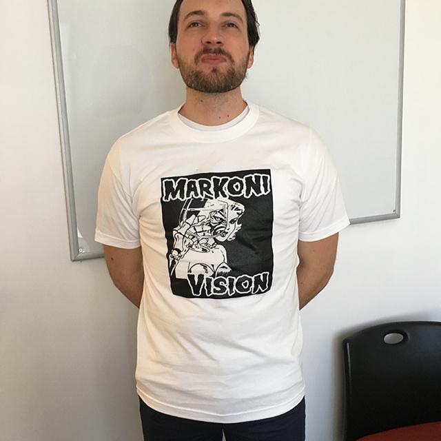 MarkoniVision screened t-shirt