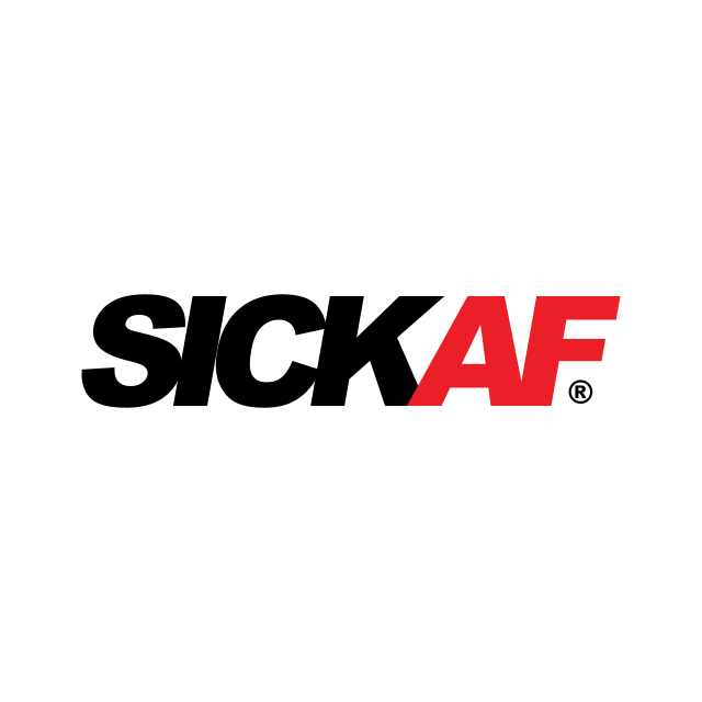 SickAF logo