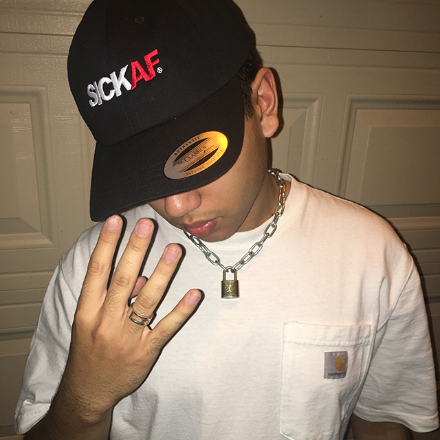 SickAF embroidered dad hat