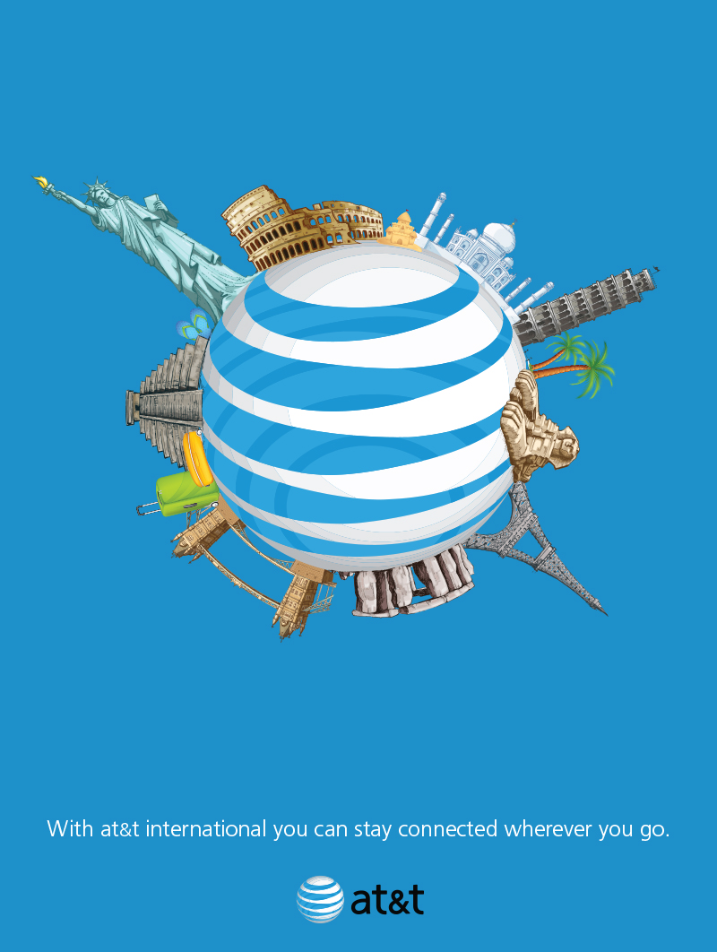 AT&T Advertising Solutions Poster