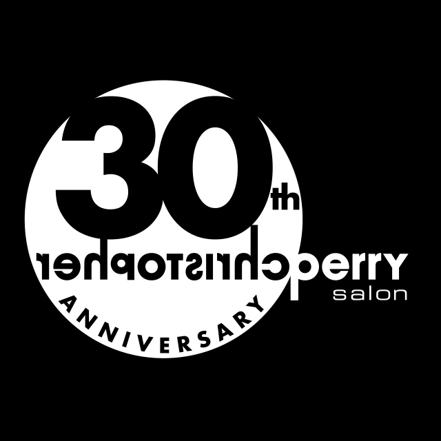 Christopher Perry Salon 30th Anniversary logo