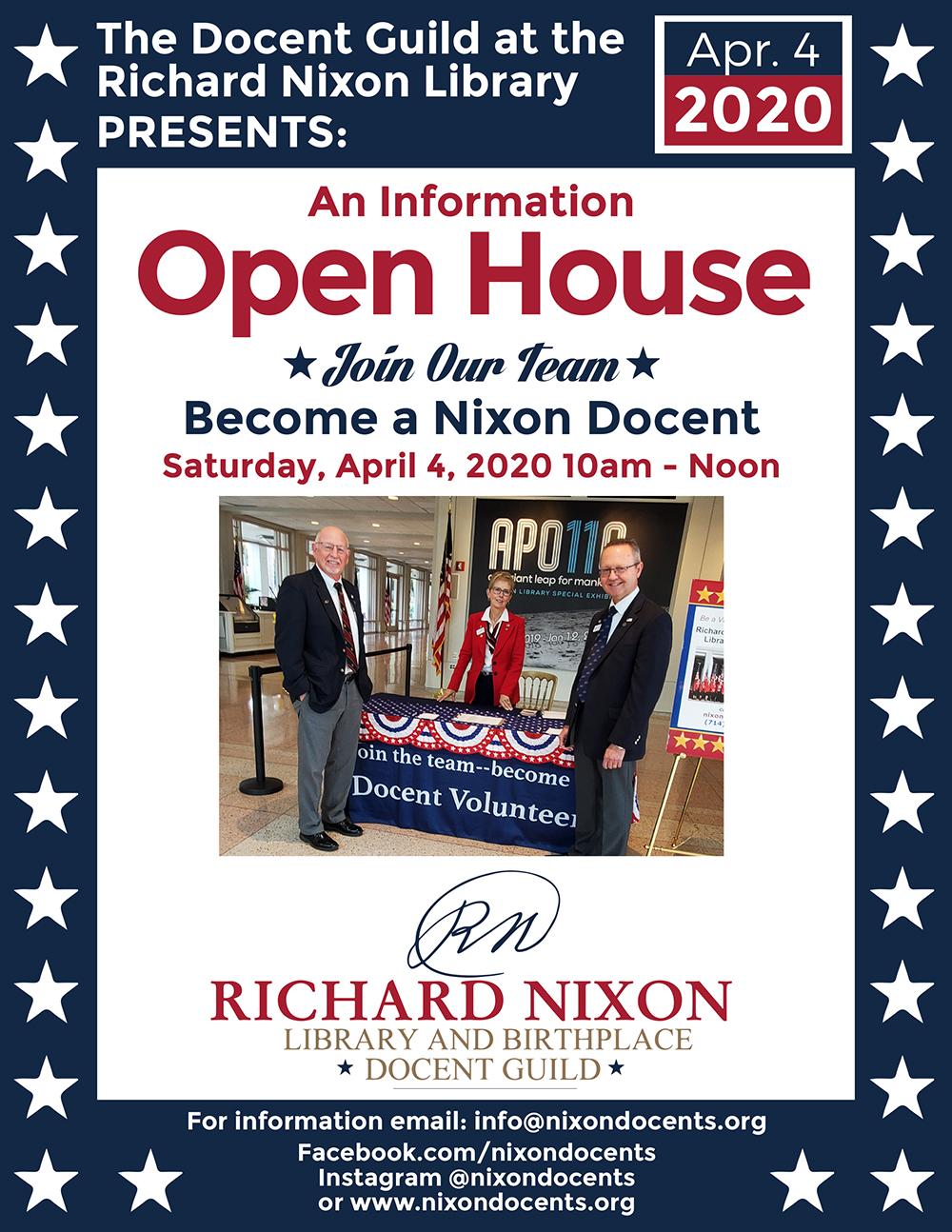Graphic Design for the Nixon Library in Orange County