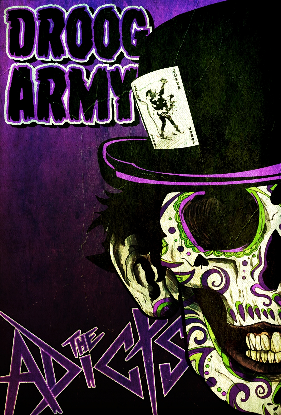 Droog Army Poster for The Adicts