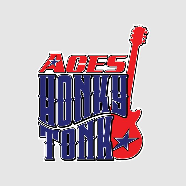 Aces Honky Tonk Logo