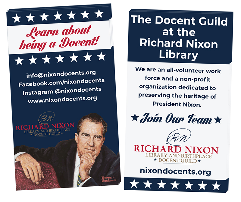 Docent Guild Business Cards