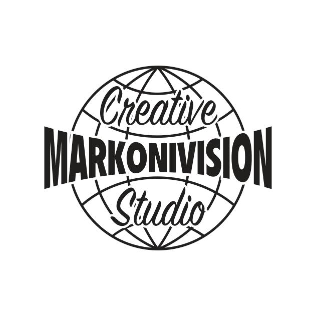 MarkoniVision Creative Studio Logo